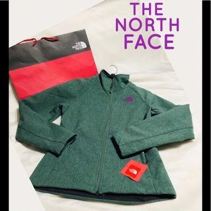 THE NORTH FACE WINDWALL JACKET DUCK GREEN HEATHER